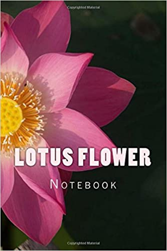 Buy Lotus Flower 150 Page Lined Notebook Book Online At Low Prices