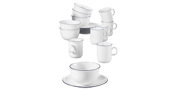 Seltmann Weiden Compact Vajilla, 0.25 litros, Porcelana ...
