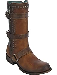 CORRAL Womens Studded Harness Strap Boot - C2966