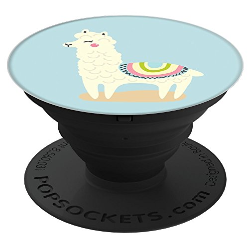 Electronics : Rad Planet Llama Pop Socket Funny Gift  PopSockets Stand for Smartphones and Tablets