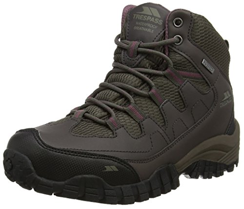 Mitzi Hiking Walking Outdoor Boots Hi Womens Shoes Cof Mid Trespass Trail Cut q1f4xq