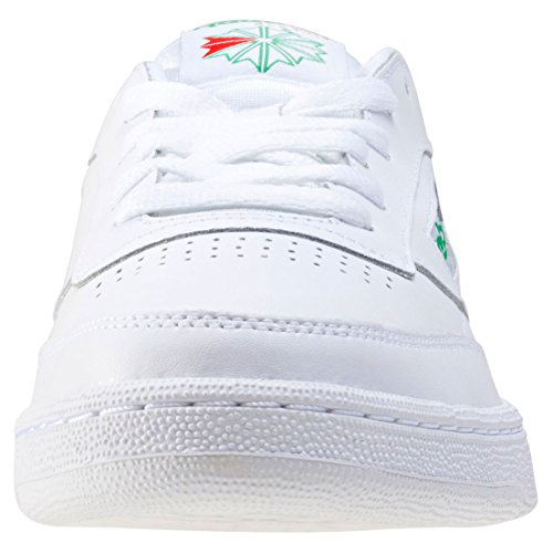 C85 Homme Reebok Blanc Basses Club Int Green White 000 Baskets awwxP7