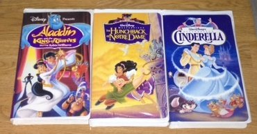 Disney Animated Classic Fairy Tale 3 Pack Collection--Aladdin and the King of Thieves, Hunchback of Notre Dame, and Cinderella