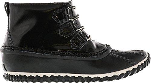 N Caviglia alta 9 5m Out Noir Delle Pioggia Alla In Donne Nero Pelle Merito Di Sorel A Sistema In qtPHPTvU