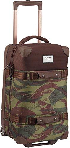 Burton Wheelie Flight Deck Travel Bag, Brushstroke Camo