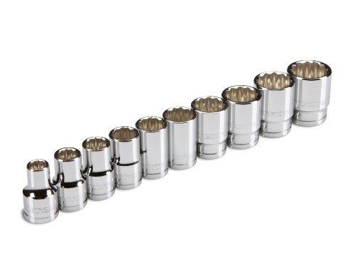 TEKTON 1/2-Inch Drive Socket Set Inch Cr-V 3/8-Inch 15/16-Inch 10-Sockets   1205 [並行輸入品] B078XL345M
