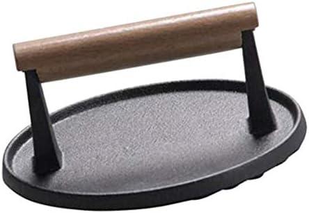 Plancha Parrilla Prensa con Rejilla Peso Bacon Prensa Carne ...