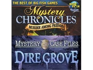 Mystery Case Files 2-Game Pack - Dire Grove and Mystery Chronicles: Murder Among Friends (Windows XP/Vista) - Friends File