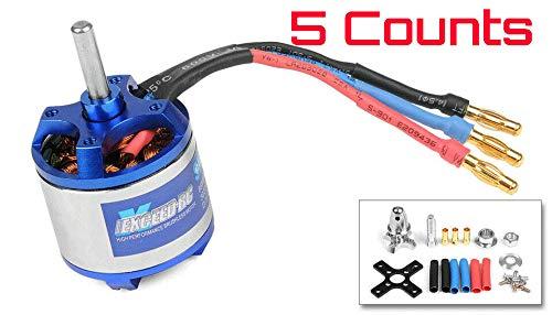 HobbyWing XERUN 5.5T 3650-6000KV センサー ブラシレスモーター 1/10 & 1/12 RCカー用 5個入り Roar 承認済み B07PPXVXKD
