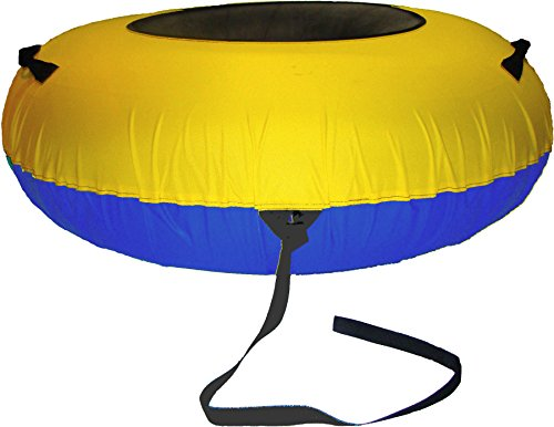 ClearCreekTubes Colossal Snow Tube Cover-yellow blue