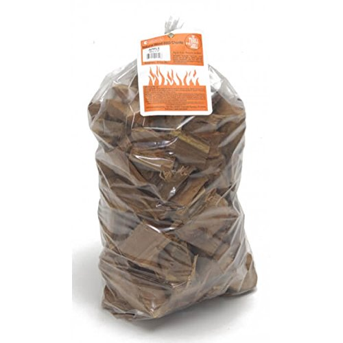 Camerons Products Smoking Wood Chunks (Alder)- 10 Pound Bag- Kiln Dried BBQ Large Cut Chips- All Natural Barbecue Smoker - Smoker Alder Bag