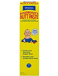 Boudreaux's Butt Paste Diaper Rash Ointment - Original - Contains 16% Zinc Oxide - Pediatrician Recommended - Paraben and Preservative-Free - 4 Ounce BOBEBE Online Baby Store From New York to Miami and Los Angeles