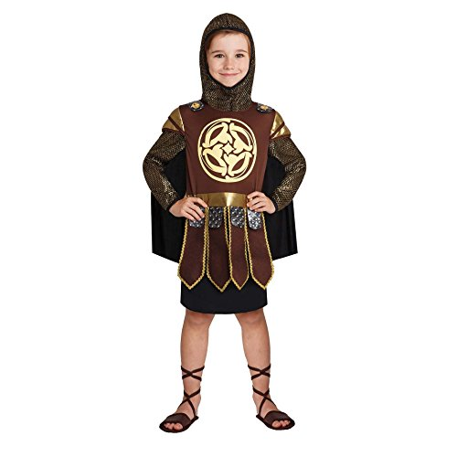 Totally Ghoul Warrior Prince Boys Costume (2-4 years) (Large) (Roman Empire Costume)