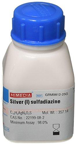 HiMedia GRM9812-25G Silver (I) Sulfadiazine, 25 g