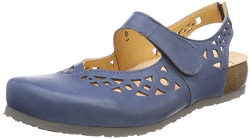 Think Julia_282982, Sandali con Cinturino Alla Caviglia Donna Blu (Jeans/Kombi 84)