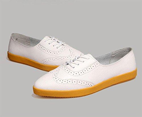 zapatos de primavera y otoño Sra zapatos casuales zapatos escogen los zapatos retro de los estudiantes , US6.5-7 / EU37 / UK4.5-5 / CN37