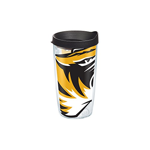 Tervis 1084776 Missouri University Colossal Wrap Individual Tumbler with Black