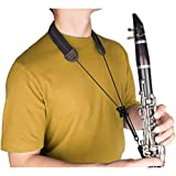 Protec NCS3 Clarinet Neck Strap featuring Padded Neoprene, Black