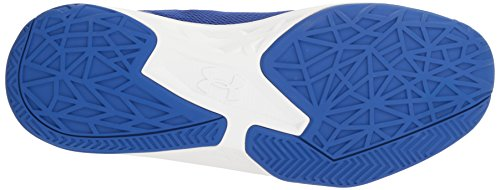 Under White Armour Jet Royal Homme Basketball Chaussures UA de Bleu Mid qwqxS1r6