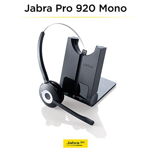 Jabra PRO 920 Mono Entry Level Wireless Headset with 3-in-1 Wearing Styles by Jabra (Image #4)