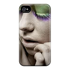 New Style DonaldWS Model Premium Tpu Cover Case For Iphone 4/4s