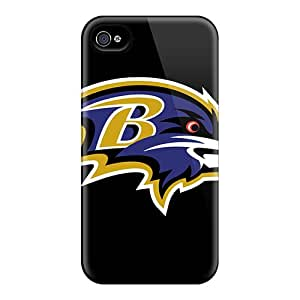 Hot New Baltimore Ravens Case Cover For Iphone 4/4s With Perfect Design