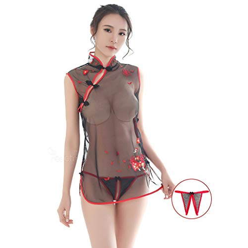 Sexy Erotic Clothing Pajamas Female Transparent Temptation Sexy Lingerie...