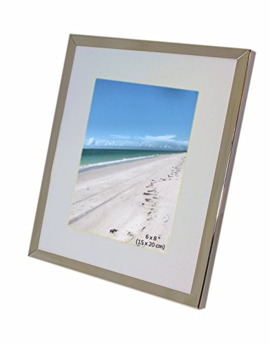 8 by 6 picture frame silver - 7