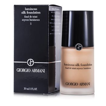 - Giorgio Armani Luminous Silk Foundation - # 5 (Warm Beige) 30ml