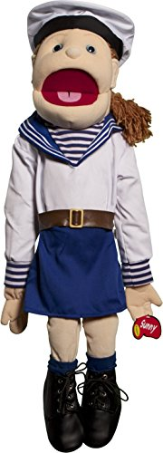 "Sunny Toys 28"" Girl Sailor Full Body Puppet"