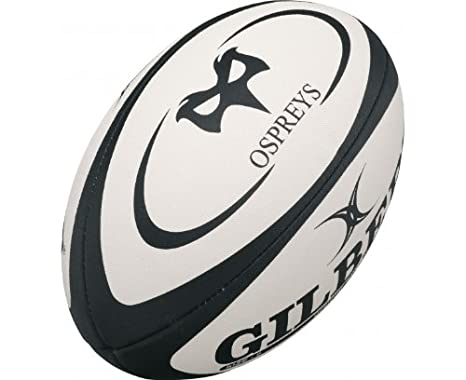 GILBERT Ospreys Réplica Mini Balón de Rugby, Mini: Amazon.es ...