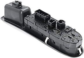 Cikuso Palanca de Ventana El/éctrica Delantera Izquierda Bot/ón de Control para Peugeot 406 95-04 6554.CF