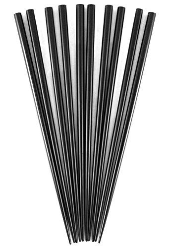 - Black Bamboo Chopsticks, Set of 5