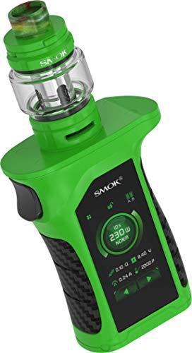 Mag P3 E-Zigarette mit Mag P3 230 Watt Akkuträger und TFV16 mit 9ml Tankvolumen – von SMOK – Farbe: grün-schwarz