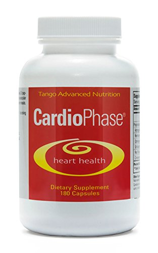 CardioPhase Advanced Herbal Heart Support Formula: All-Natural Supplement for Healthy Circulation and Cardiovascular Performance