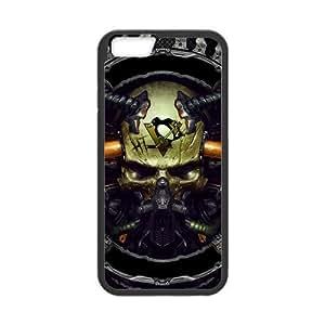 """Custom Unique Design NHL Pittsburgh Penguins Iphone 6(4.7"""") Silicone Case"""
