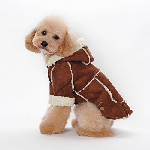 Kailian Dog Winter Coat Pet Hooded Clothes Snowsuit Apparel