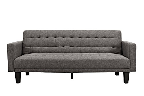 DHP Sienna Sofa Sleeper, Gray