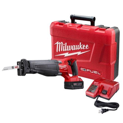 (Milwaukee 2720-21 M18 Fuel 18-Volt Lithium-Ion Brushless Cordless Sawzall Reciprocating Saw Kit)