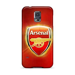 Protector Hard Phone Cover For Samsung Galaxy S5 (skw22755oLCY) Provide Private Custom HD Arsenal Pattern