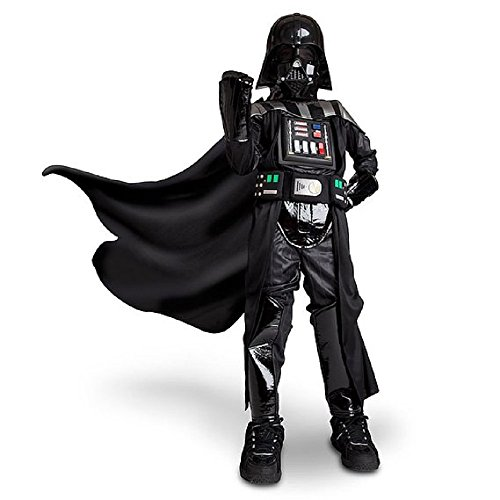 Disney Store Darth Vader Costume for Boys - Star Wars Size 4 XS -