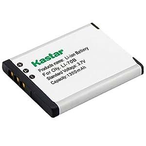 Kastar 3.7V,1350mAh,Li-ion,Replacement Digital Camera Battery for OLYMPUS FE-4020, FE-4040, FE-5040, X-940,Compatible Part Numbers:LI-70B