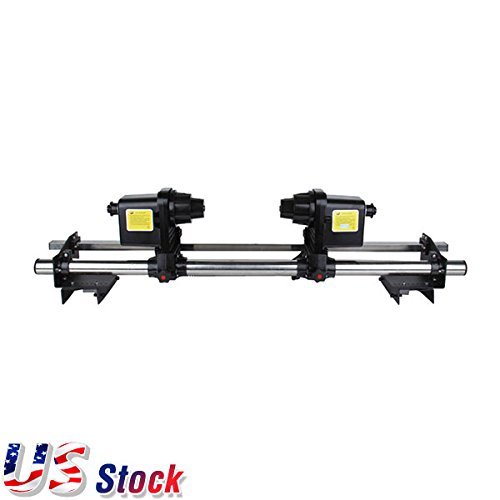 US Stock- 54'' Automatic Media Take up Reel SD54 Two Motors for Mutoh / Mimaki / Roland / Epson Printer by Ving