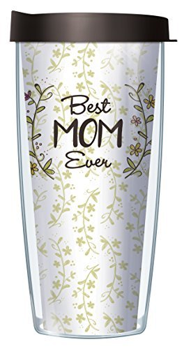 Best Mom Ever 22 Oz Traveler Tumbler Mug with Lid