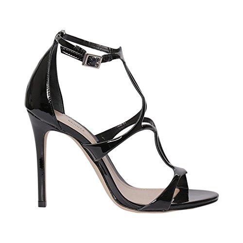 Sandales Schutz Sandales Femme Femme pour Noir Noir Schutz Schutz pour Sandales XxqS1061