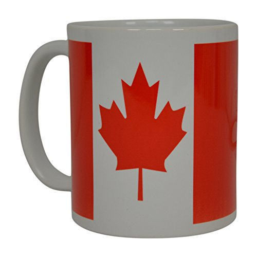 Best Coffee Mug Canada Canadian Maple Leaf Flag Novelty Cup Great Gift Idea For Men Women