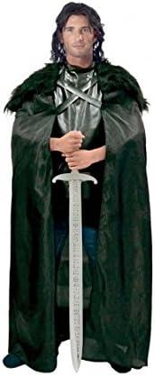 Partilandia Disfraz Caballero Negro Hombre Adulto Carnaval L ...