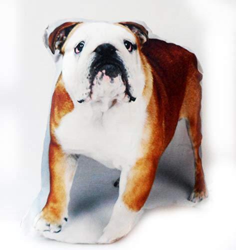 Cojín en forma de Bulldog Inglés, Lovely cojín relleno perro ...