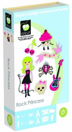Cricut Cartridge Rock Princess (Provo Craft Cricut Inks)