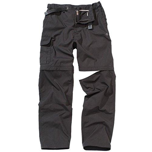 Craghoppers Kiwi Convertible pantalones negro